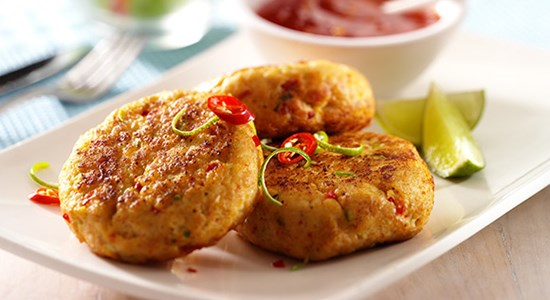 Thai Cod Fishcakes - Fishbox