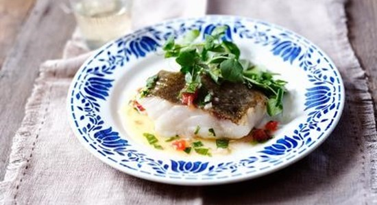 Coley with Tarragon Sauce Vierge - Fishbox