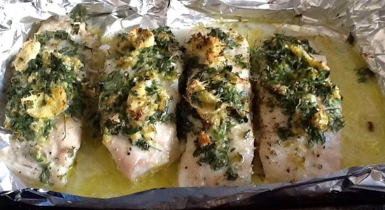 Baked Coley with Coriander Ginger - Fishbox