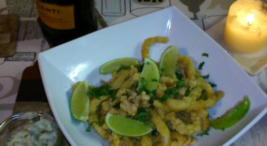 Calamari with Lemongrass & Coriander Mayo - Fishbox