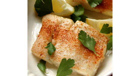 Turbot Baked with White Wine and Fennel - Fishbox