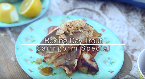 Boxing Day Trout with Nut Brown Butter toasted Almonds - Fishbox