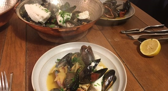 Shellfish Fish Cataplana - Fishbox