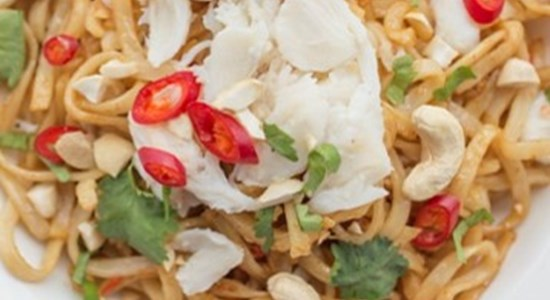 Asian Brow Crab Noodles - Fishbox