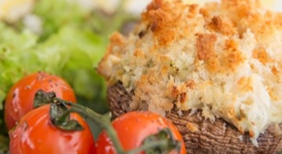 Brown Crab Stuffed Mushrooms - Fishbox