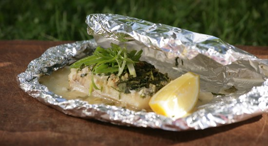 Fishbox BBQ - Smoked Haddock Parcels