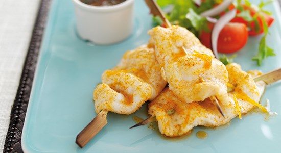 Citrus Lemon Sole Skewers- Fishbox BBQ