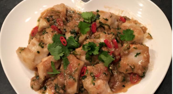 Garlic & Chili Monkfish Cheeks Stir Fry- Fishbox