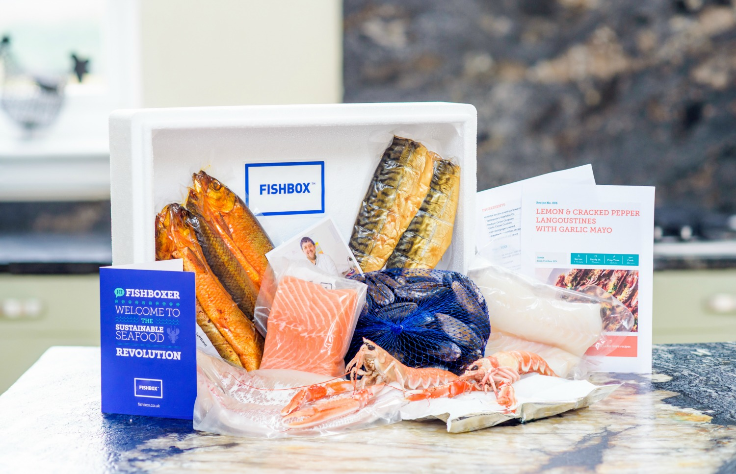 Our responsibly sourced Fishbox