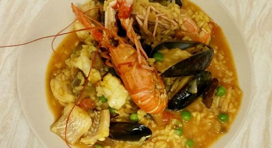 Luxury Seafood Paella