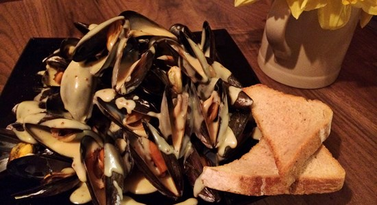 Rarebit Mussels
