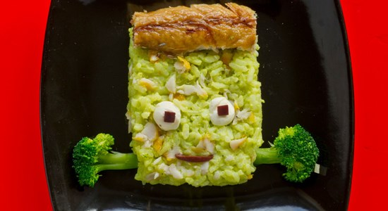 Spooky Herman Munster Risotto