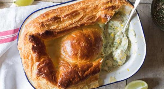 Smokey Cullen Skink Puff Pastry Pie
