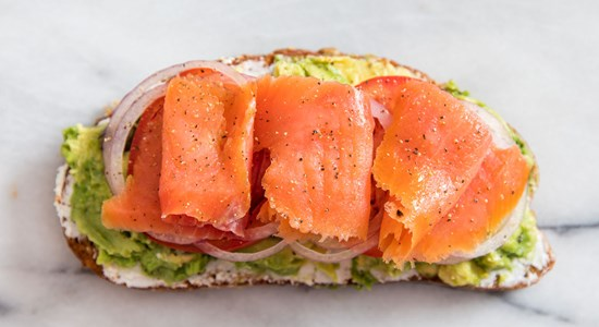 Smoked Salmon and Avocado toast