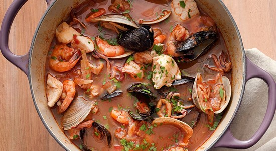Cioppino (Italian-American Fish Stew)
