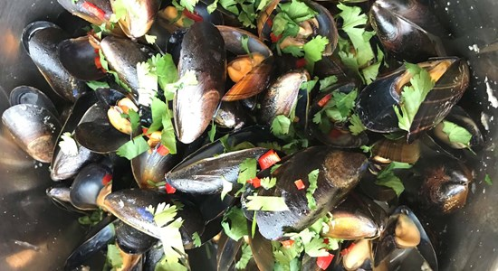 Steph's Thai Mussels